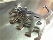Silver Brooch 925 Silver 15.5g